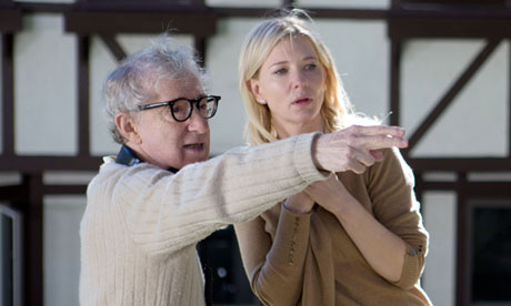 Wooden Allen directs Cate Blanchett in his latest film Blue Jasmine